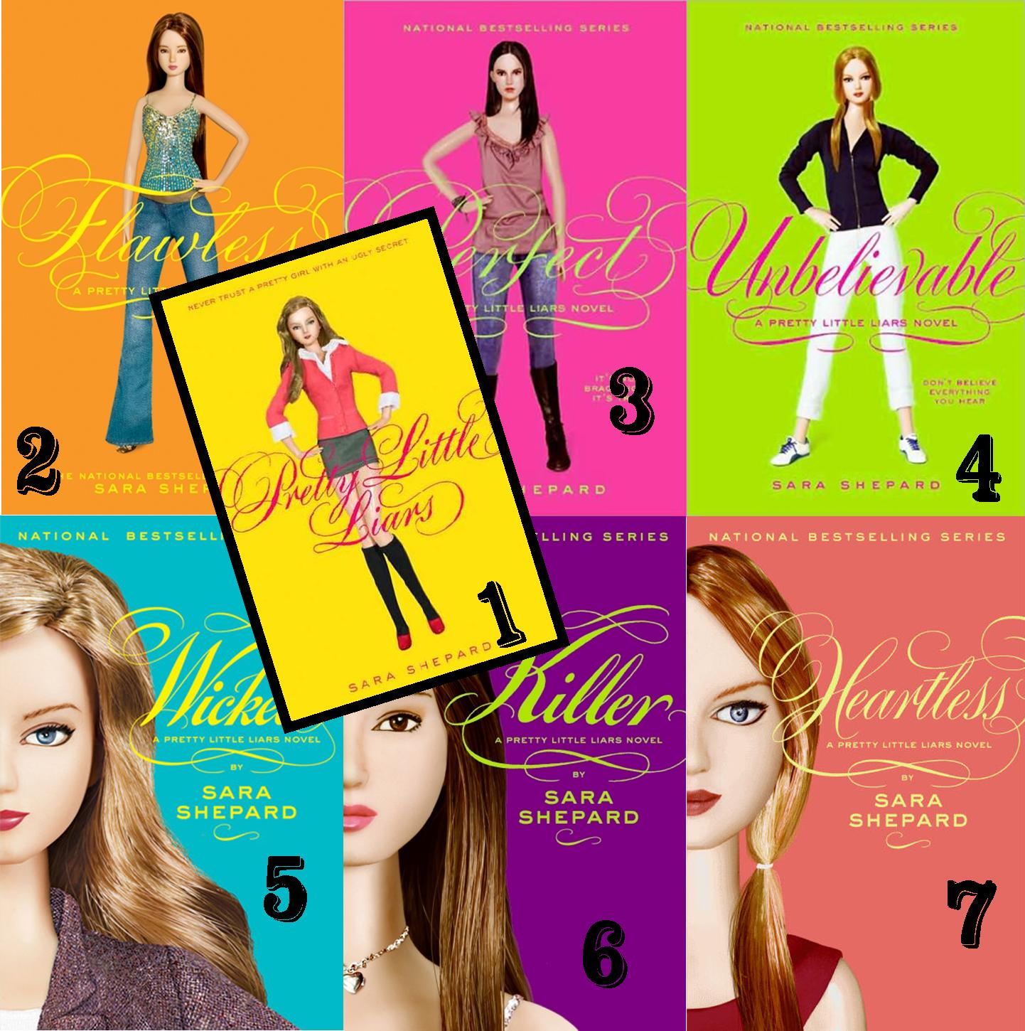 Image result for pretty little liars book series