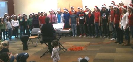 Holiday Cheer from Igo Teens !!!