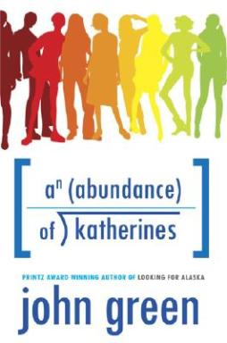 """An Abundance of Katherines"" by John Green book cover"