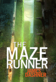 """""""The Maze Runner"""" by James Dashner book cover"""