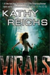 """""""Virals"""" by Kathy Reichs  book cover"""