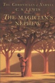 """The Magician's Nephew"" by C. S. Lewis book cover"