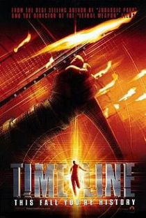 """Timeline"" by Michel Crichton book cover"