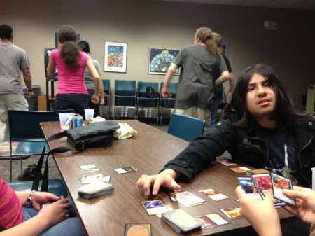 Tandem DDR and Tree-Way Magic card game