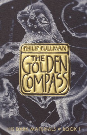 """The Golden Compass"" by Philip Pullman book cover"