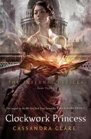 """Clockwork Princess"" by Cassandra Clare book cover"