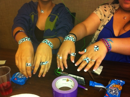 Duct Tape Jewelry!