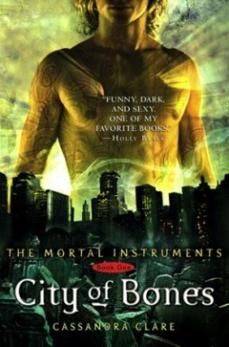 """City of Bones"" by Cassandra Clare book cover"