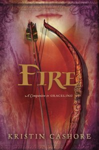 """Fire"" by Kristin Cashore book cover"