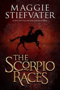 """""""The Scorpio Races"""" by Maggie Stiefvater book cover"""