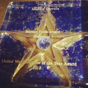mayors youth award