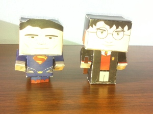 Superman and Harry Potter