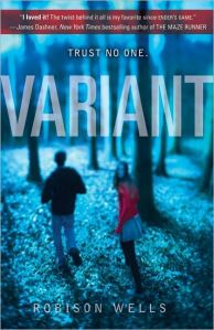 """Variant"" by Robinson Wells book cover"