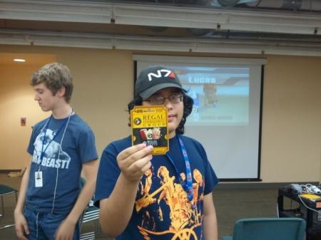 Great Northwest Video Game Tournament Winner