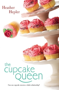 """Cupcake Queen"" by Heather Helper book cover"