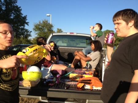 Maverick Teen Tailgate Party