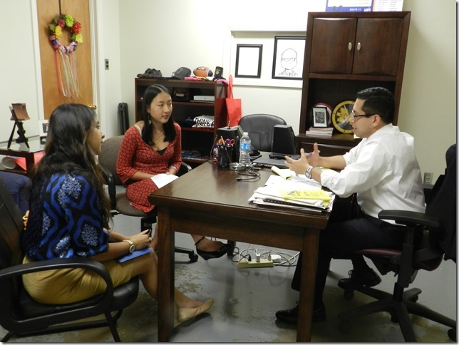 Landa Teen Outreach A Meeting With Councilman Diego