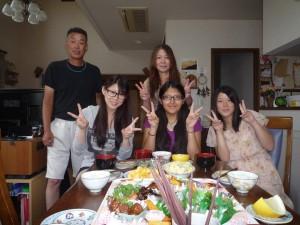 rubi and host family