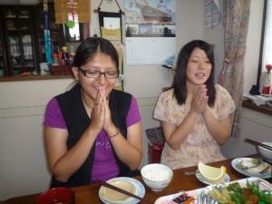 rubi praying