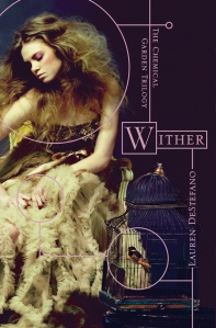 """Wither"" by Lauren DeStefano book cover"