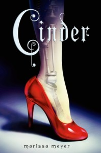 """Cinder"" by Marissa Meyer book cover"