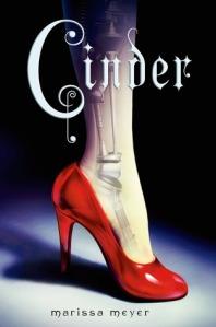 """Cinder"" by Marissa Meyer book cover"