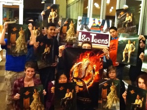 "Igo Teens ""Catching Fire"" ."