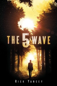 """The 5th Wave"" by Rick Yancey book cover"