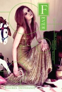 """""""Fever"""" by Lauren DeStefano book cover"""