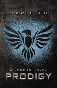 """Teen Review: """"Prodigy"""" by Marie Lu book cover"""