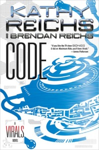 "Teen Review: ""Code"" by Kathy Reichs book cover"