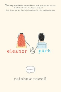 """Eleanor and Park"" by Rainbow Rowell book cover"