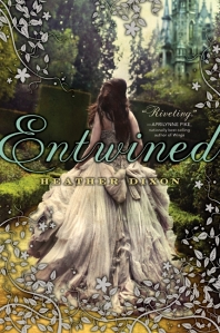 """Entwined"" by Heather Dixon  book cover"