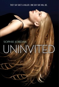 """Uninvited"" by Sophie Jordan book cover"