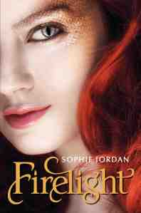"""Firelight"" by Sophie Jordan book cover"