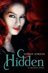 """Hidden"" by Sophie Jordan book cover"