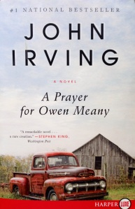 """A Prayer for Owen Meany"" book cover"