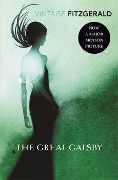 """The Great Gatsby"" by F. Scott Fitzgerald book cover"