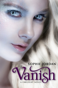 """Vanish"" by Sophie Jordan book cover"