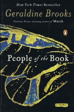 """People of the Book"" by Geraldine Brooks book cover"