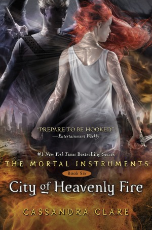 """City of Heavenly Fire"" by Cassandra Clare book cover"