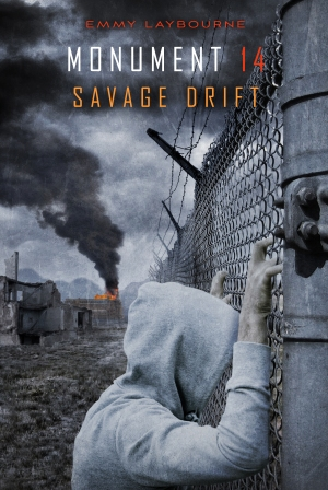 """Savage Drift"" by Emmy Laybourne book cover"