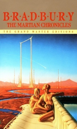 """The Martian Chronicles"" by Ray Bradbury book cover"