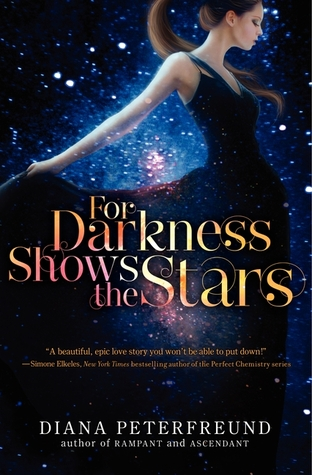 """For Darkness Shows the Stars"" by Diana Peterfreund book cover"