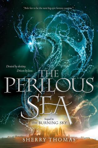 """The Perilous Sea"" by Sherry Thomas book cover"