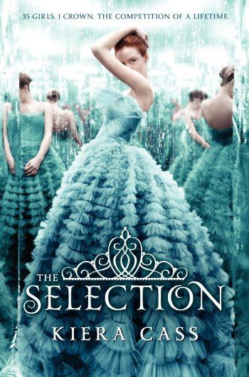 """The Selection"" by Kiera Cass book cover"
