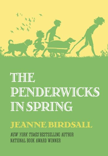 """The Penderwicks in Spring"" by Jeanne Birdsall book cover"