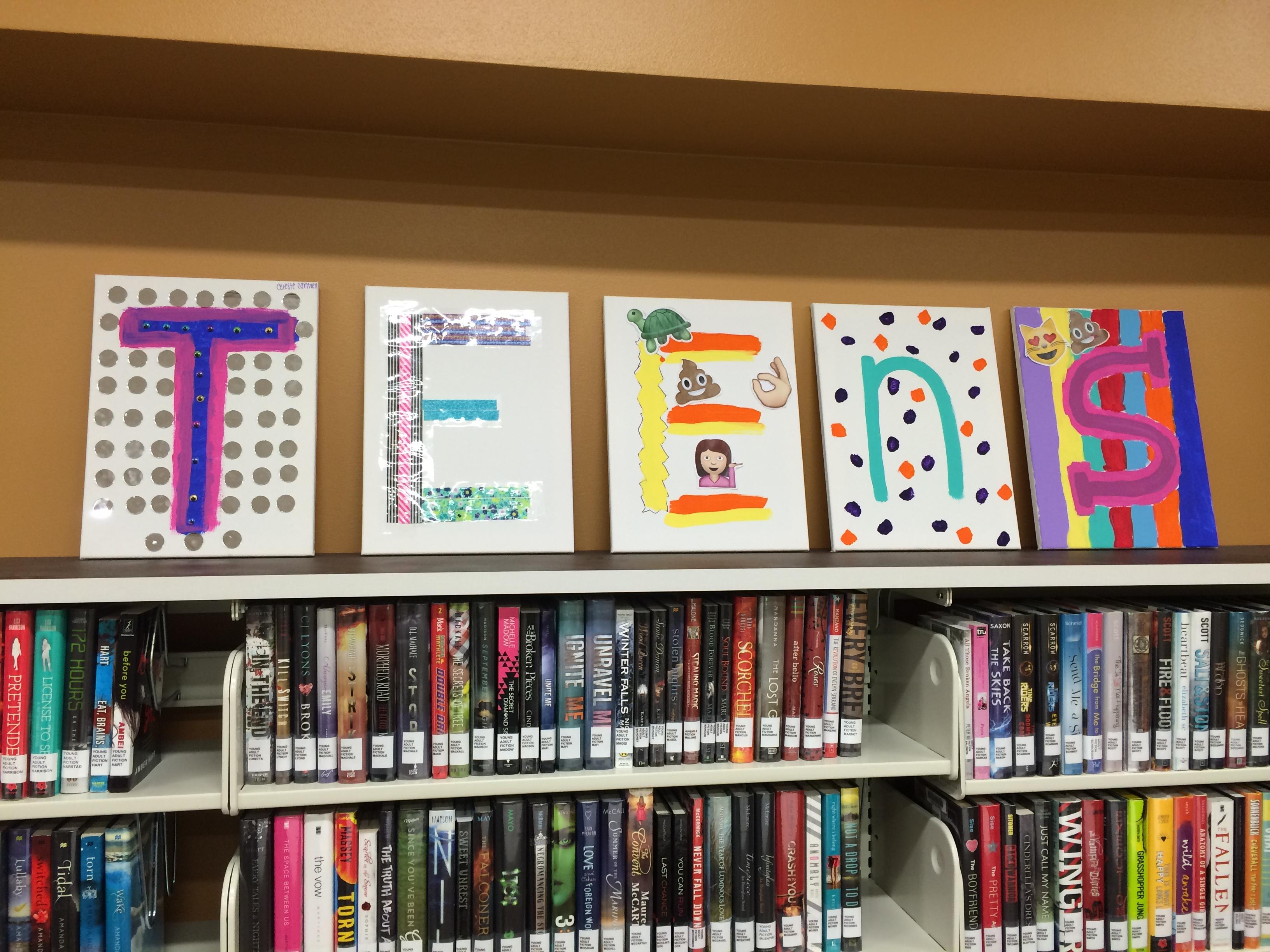 Library Teen Art 100
