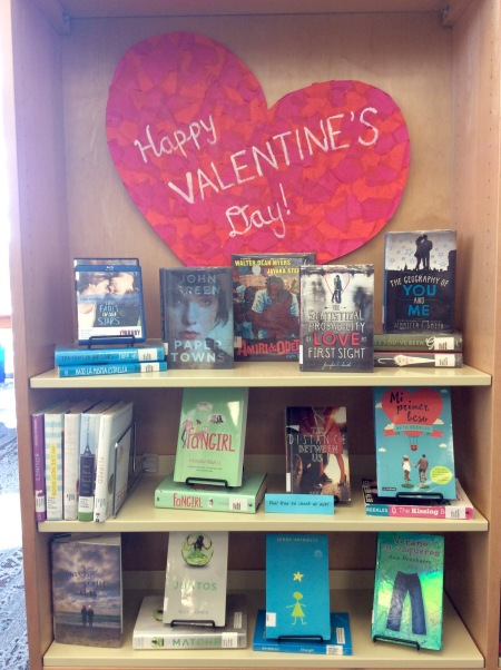 2016TeenBookDisplayVday